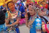 靖州职中参加靖州2014苗族歌鼟比赛—周永红 摄影