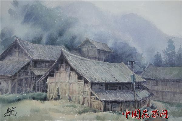 第三届全国水彩画高研班在靖州苗乡侗寨结业