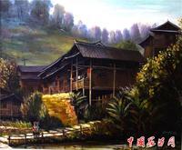 周永红 苗乡侗寨油画写生系列